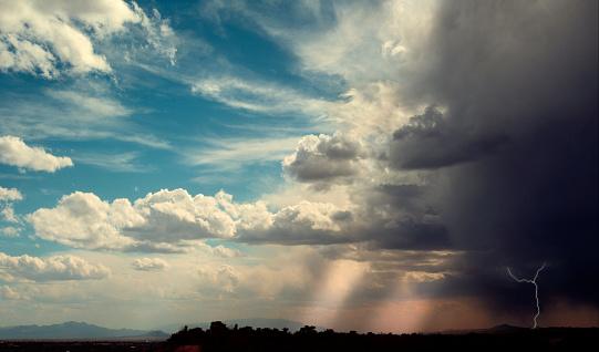 Thunderstorm「Approaching Thunder and Lightning Storm」:スマホ壁紙(6)