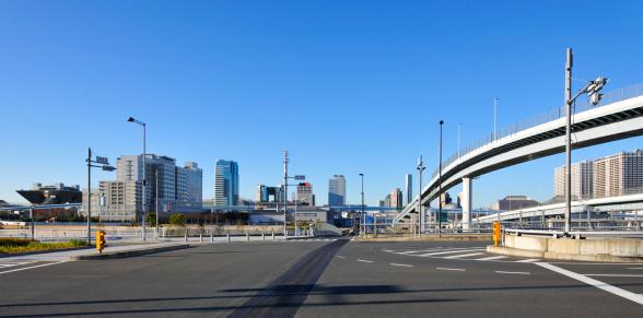 江東区「Tokyo Waterfront Subcenter」:スマホ壁紙(18)
