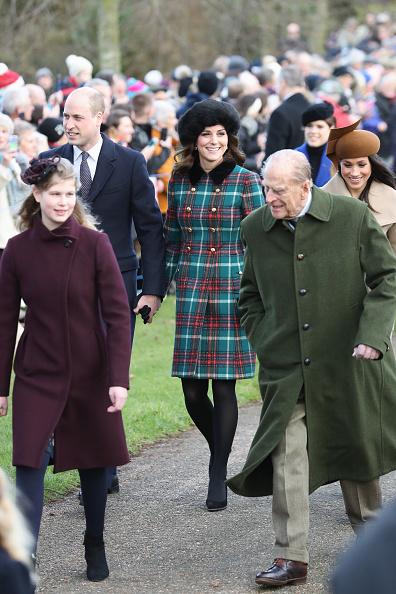 King's Lynn「Members Of The Royal Family Attend St Mary Magdalene Church In Sandringham」:写真・画像(16)[壁紙.com]