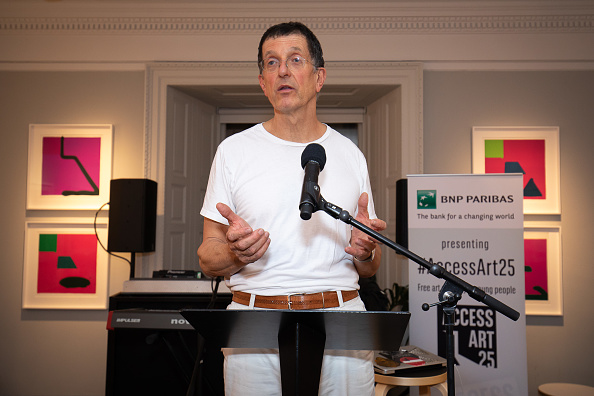 Antony Gormley「BNP Paribas AccessArt25 Event For Antony Gormley」:写真・画像(9)[壁紙.com]