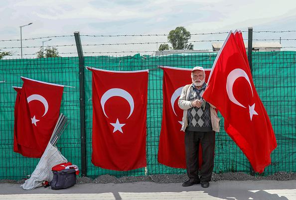 Gaza Strip「Major Rally Held In Istanbul To Protest Killing Of Palestinians In Gaza」:写真・画像(10)[壁紙.com]