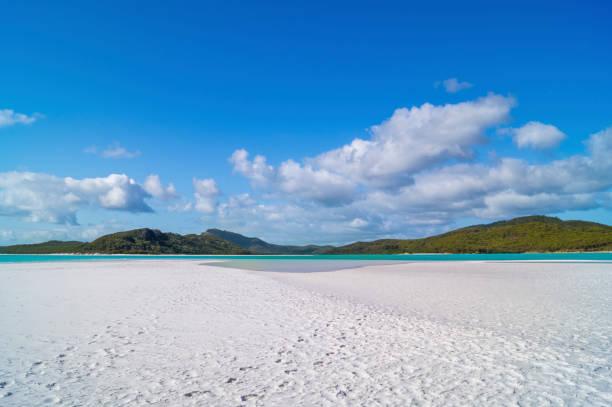 Australia, Queensland, Whitsunday Island, Whitehaven Beach:スマホ壁紙(壁紙.com)