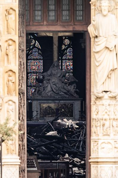 Notre Dame de Paris「Paris Assesses Damage Following Notre Dame Blaze」:写真・画像(11)[壁紙.com]