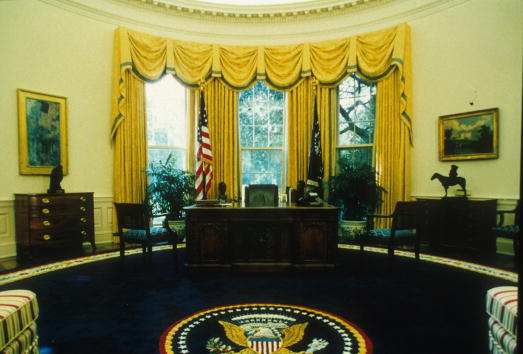 屋内「Re-Decorated Oval Office」:写真・画像(12)[壁紙.com]
