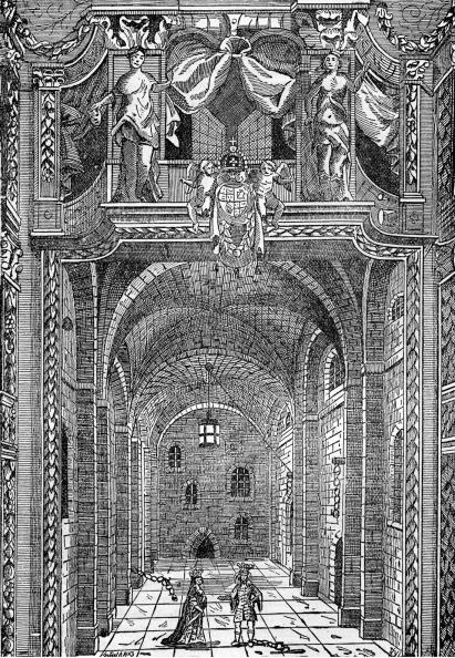 17th Century「The Duke's Theatre, Portugal Street, London  (interior)」:写真・画像(19)[壁紙.com]
