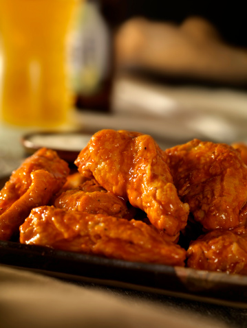 Chicken Wing「Hot and Spicy Buffalo Wings」:スマホ壁紙(5)