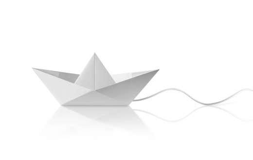 Effortless「Paper boat with cable」:スマホ壁紙(15)
