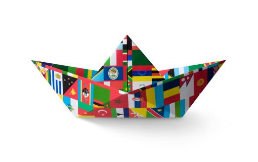 Global Communications「Paper boat」:スマホ壁紙(5)
