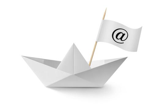 """E-Mail「Paper boat """"@""""」:スマホ壁紙(7)"""