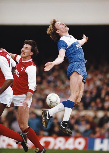 Club Soccer「Kevin Richardson Arsenal v  Everton 1986」:写真・画像(13)[壁紙.com]