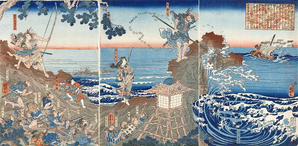 Illustration Technique「At Izu No Oshima」:写真・画像(1)[壁紙.com]