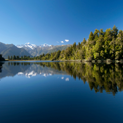 雪山「美しいニュージーランド」:スマホ壁紙(2)