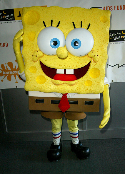 Cartoon「SpongeBob SquarePants Attends Dream Halloween Event」:写真・画像(15)[壁紙.com]