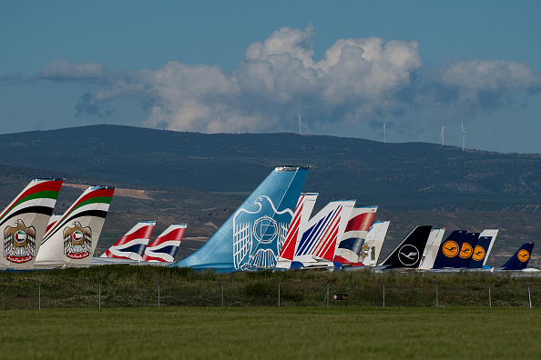 British Airways「The Planes In Spain Park Mainly At Teruel Airport, As Pandemic Continues To Hobble Fleets」:写真・画像(18)[壁紙.com]