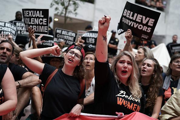 Capitol Hill「Activists Rally Against Brett Kavanaugh Nomination In Washington DC」:写真・画像(14)[壁紙.com]