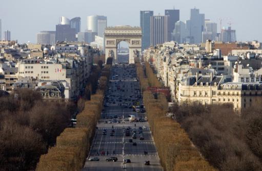 Arc de Triomphe - Paris「Champs-+lyses, Paris, France」:スマホ壁紙(7)