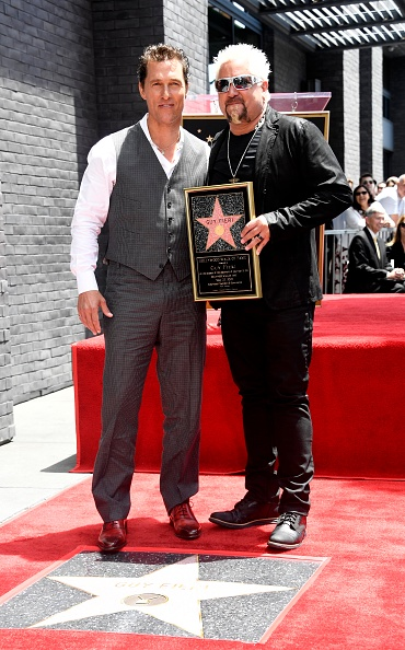 Matthew McConaughey「Guy Fieri Honored With Star On Hollywood Walk Of Fame」:写真・画像(16)[壁紙.com]