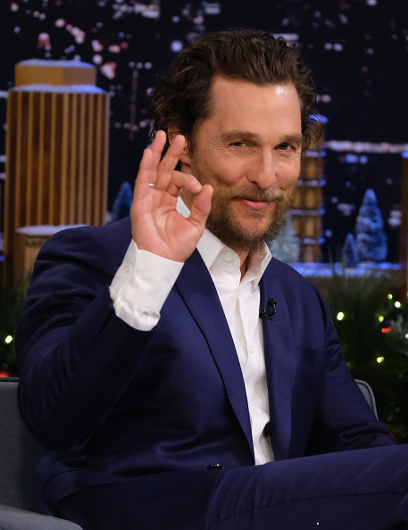 "Matthew McConaughey「Matthew McConaughey Visits ""The Tonight Show Starring Jimmy Fallon""」:写真・画像(8)[壁紙.com]"