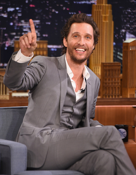 "Matthew McConaughey「Matthew McConaughey  Visits ""The Tonight Show Starring Jimmy Fallon""」:写真・画像(10)[壁紙.com]"