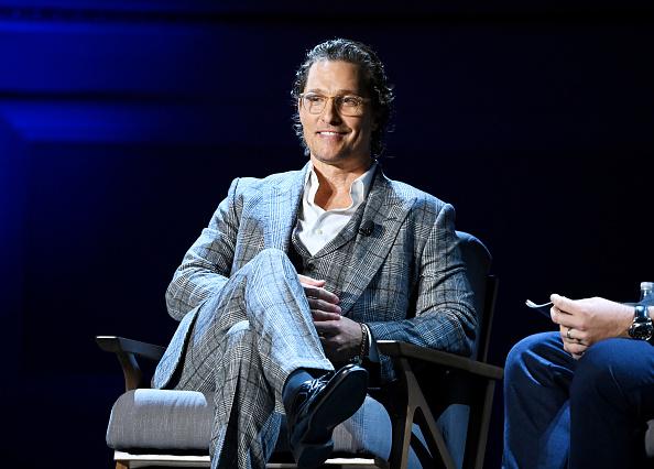 Matthew McConaughey「HISTORY Presents HISTORYTalks」:写真・画像(6)[壁紙.com]