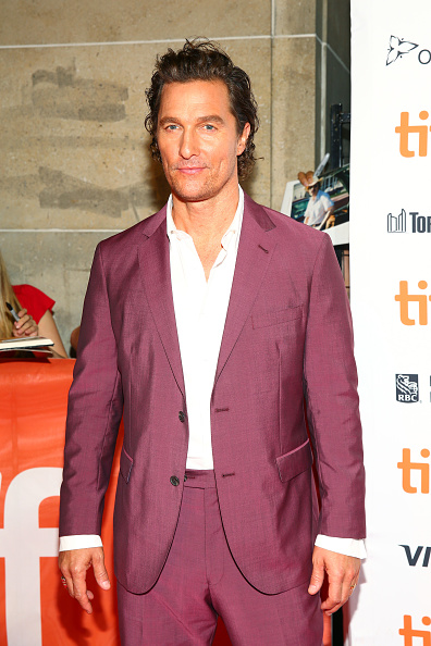 "Matthew McConaughey「2018 Toronto International Film Festival - ""White Boy Rick"" Premiere」:写真・画像(12)[壁紙.com]"