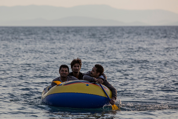 Dawn「Migrants Continue To Arrive On Greek Island Of Kos」:写真・画像(19)[壁紙.com]