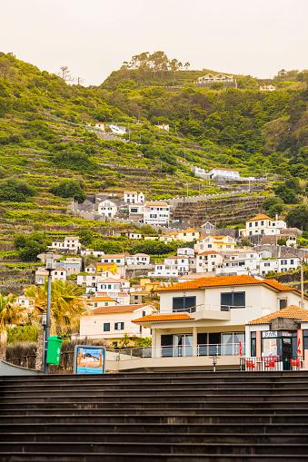 Porto Moniz「Stairs to Porto Moniz village」:スマホ壁紙(16)