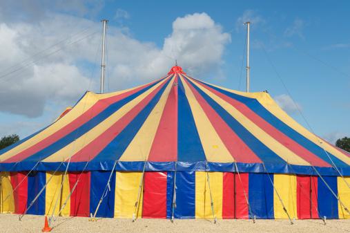 Entertainment Tent「Big Top Circus Tent」:スマホ壁紙(9)