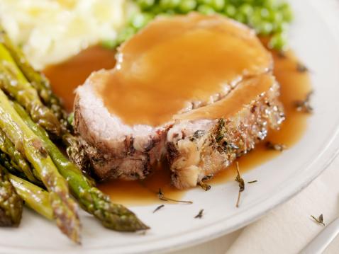 Loin「Pork Roast Dinner with Gravy」:スマホ壁紙(18)