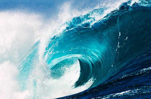 波「海の種類」:スマホ壁紙(17)