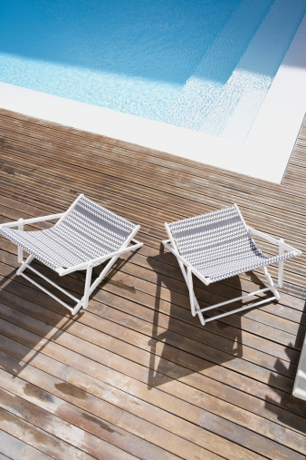Deck Chair「Spain, Deck chairs at Mallorca」:スマホ壁紙(5)