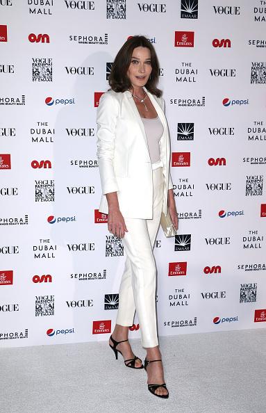 Carla Bruni「Vogue Fashion Dubai Experience 2015 - Gala Event Arrivals」:写真・画像(19)[壁紙.com]