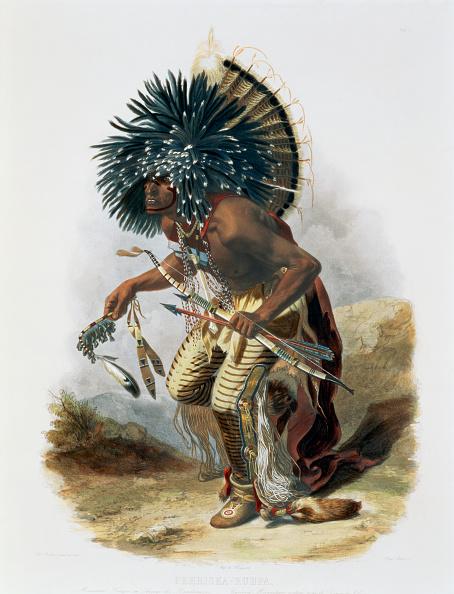 Intricacy「Pehriska-Ruhpa Minatarre Warrior In The Costume Of The Dog Dance' 1843」:写真・画像(16)[壁紙.com]