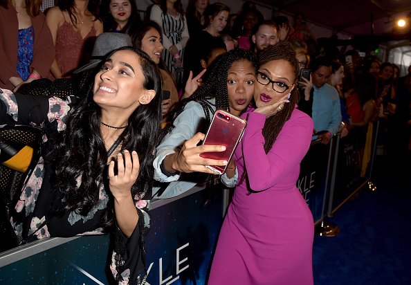 """A Wrinkle in Time「Premiere Of Disney's """"A Wrinkle In Time"""" - Red Carpet」:写真・画像(1)[壁紙.com]"""