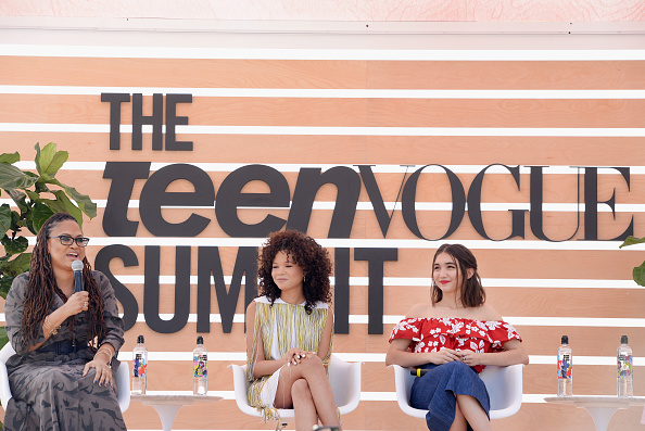Wrinkled「The Teen Vogue Summit LA: Keynote Conversation with A Wrinkle In Time director Ava Duvernay and actresses Rowan Blanchard and Storm Reid」:写真・画像(19)[壁紙.com]