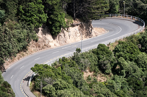 Hairpin Curve「Dramatic Switchback Road」:スマホ壁紙(7)