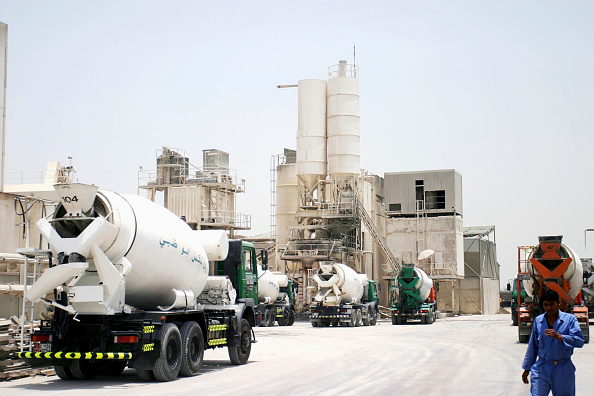Cement「Cement factory in Abu Dhabi, UAE」:写真・画像(9)[壁紙.com]