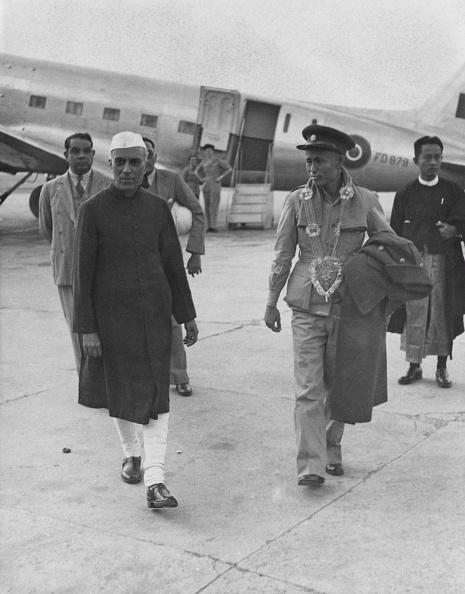 Delhi「Nehru And Aung San」:写真・画像(2)[壁紙.com]