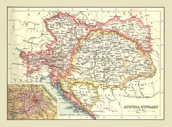 Austria「Map Of Austria-Hungary」:写真・画像(15)[壁紙.com]