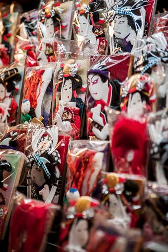 Souvenir「Kabuki characters in plastic」:スマホ壁紙(18)