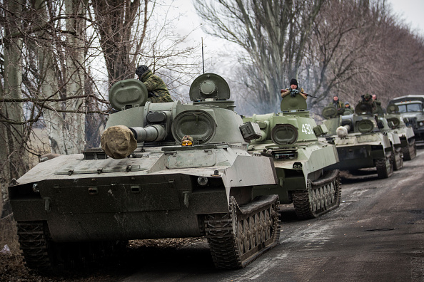 Armored Tank「Conflict In Eastern Ukraine Takes Its Toll On Donetsk」:写真・画像(17)[壁紙.com]