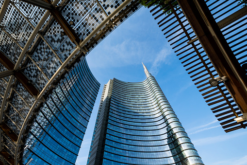 Italian Culture「The buildings of the new district of Porta Nuova」:スマホ壁紙(2)