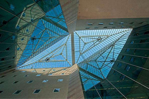 Ceiling「The Bank Austria Building In The Lasallestraße」:写真・画像(12)[壁紙.com]