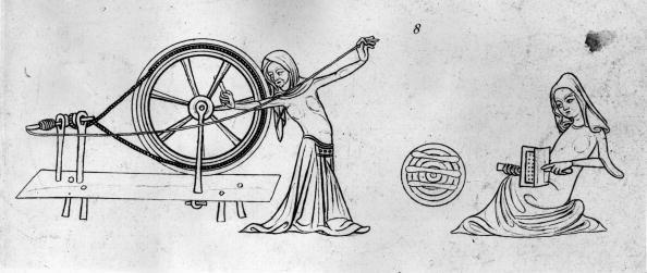 Circa 14th Century「Wool Workers」:写真・画像(10)[壁紙.com]