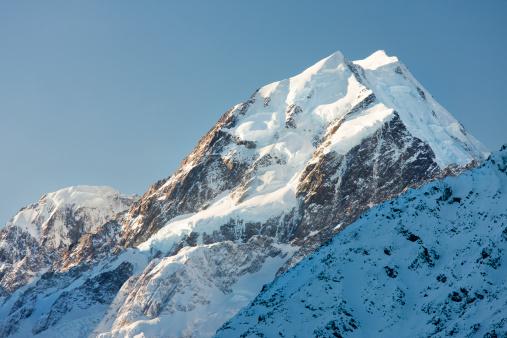 Mt Cook「Summit of Mount Cook, South Island, New Zealand」:スマホ壁紙(6)