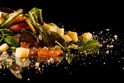 Spanish Culture「Gourmet creative salad」:スマホ壁紙(11)