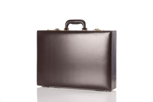 Business「Brown Retro Briefcase」:スマホ壁紙(15)