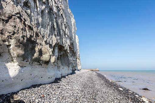 ビーチ「White cliffs of Dover」:スマホ壁紙(17)