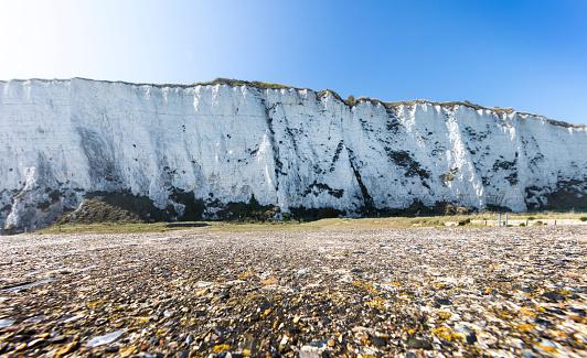 ビーチ「White cliffs of Dover」:スマホ壁紙(0)