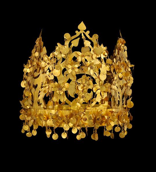 Jewelry「Gold Crown From Tillya Tepe」:写真・画像(1)[壁紙.com]